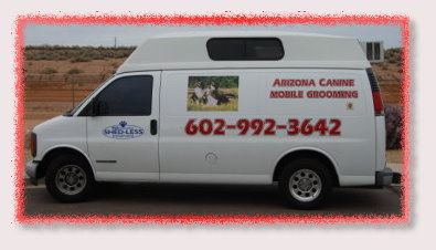Arizona Mobile Grooming - Fast and Friendly